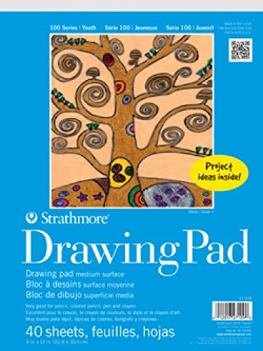 Strathmore 27-119 100 Series Youth Drawing Bulk Pack, 200 Sheets