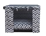 BowhausNYC Fair Isle Crate Cover, Dark Gray/White Review