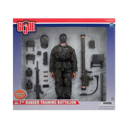 G I Joe US Army 7th Ranger Training Battalion 12 Inch Figure Set