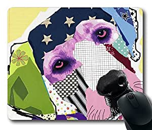 Westie Pop Fashion Dog Art Easter Thanksgiving Personlized Masterpiece Limited Design Oblong Mouse Pad by Cases & Mousepads