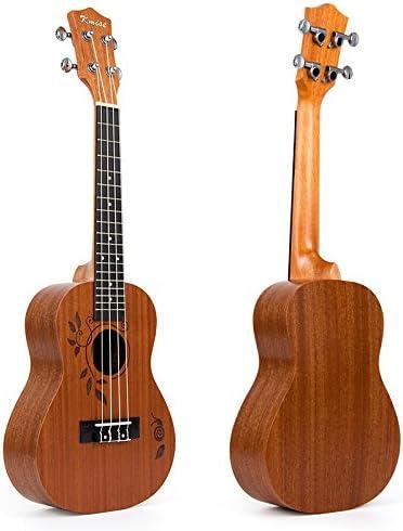 Kmise ukelele de concierto (Uke 23 inch Guitarra Hawaii 18 trastes ...
