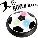 Hover Ball, Kids Toys Indoor Outdoor Air Powered Electric Soccer Football LED Light Soft Foam Floating Ball Sport Children Toys Training Football for Boys Girls with Parents Game