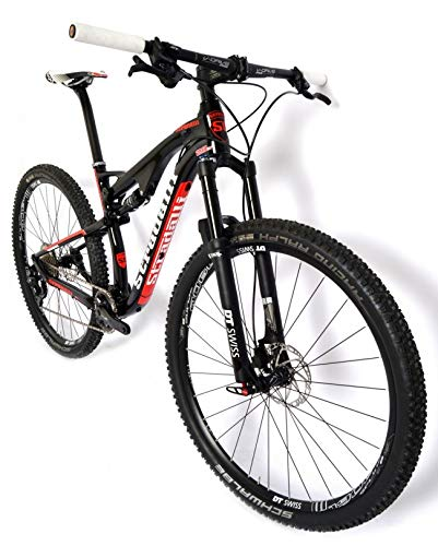 Stradalli Full Suspension 29er XC Mountain Bike. Full Carbon Black/Red Cross Country MTB. Ride Pro, Pay Lees! (19)