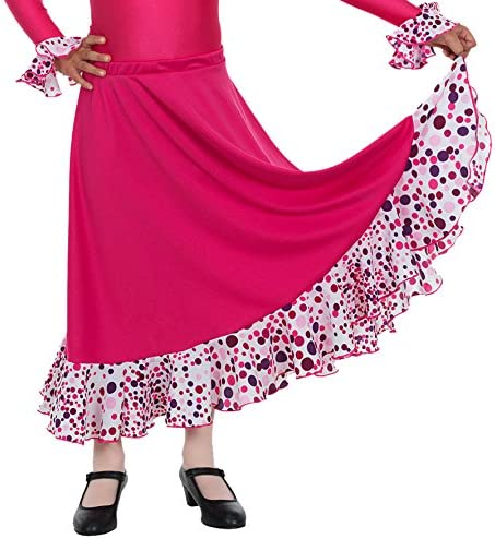 Happy Dance EF008 - Falda de Flamenco para niñas, Talla 4: Amazon ...