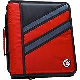 Case-It 2-in-1 Z-Binder Red
