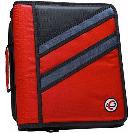 Removable Binder 3 2 Ring (Case-It 2-in-1 Z-Binder Red)