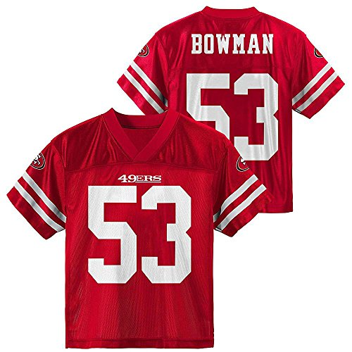 Outerstuff Navarro Bowman San Francisco 49ers Toddler Red...