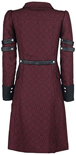 Gothicana by EMP Abrigo Behemotha Abrigo Mujer rojo/negro rojo/negro
