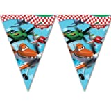 7.5ft Disney's Planes Movie Party Plastic Pennant Flag Banner Bunting Decoration