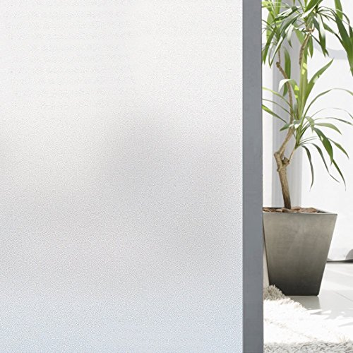 Cheap  Soqool Frosted window covering film Self Static Cling Window Film for Glass..