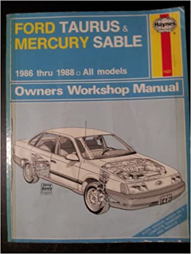 Ford Taurus and Mercury Sable 1986-88 All Models Owners Workshop Manual: Amazon.es: Bob Henderson, J. H. Haynes: Libros en idiomas extranjeros