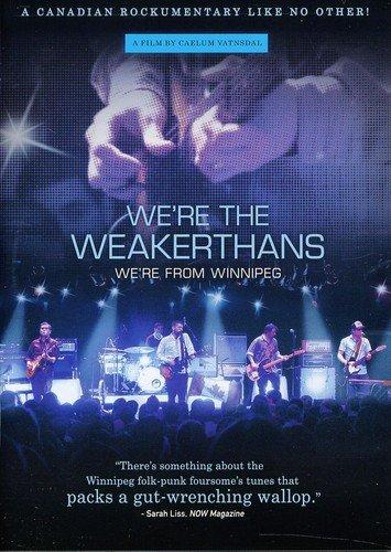 DVD : We're The Weakerthans We're From Winnipeg (DVD)