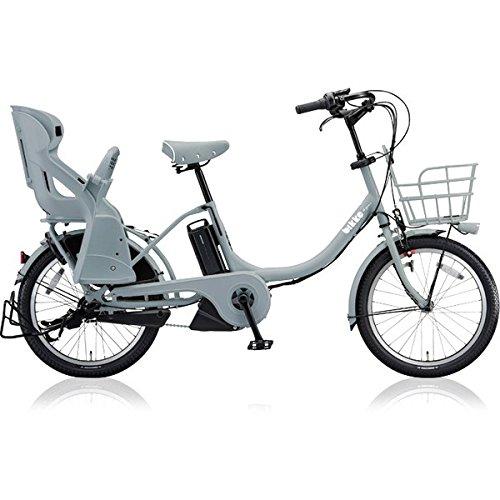 ブリヂストン(BRIDGESTONE) 18年モデル ビッケモブ e BM0C38 20インチ 電動アシスト自転車 専用充電器付 B0764BHLFPE.XBKブルーグレー