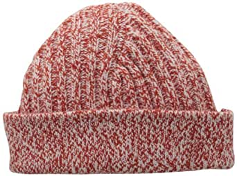 Jack Spade Men's Marled Watch Cap, Red, One Size