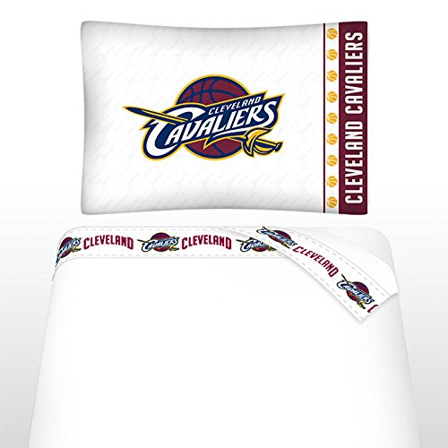 Sports Coverage NBA Cleveland Cavaliers Not Applicabe, White, Twin