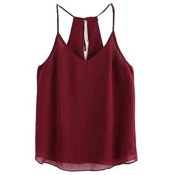 ... Verano Sexy Sin Mangas Cosecha de Tanque Tops Chaleco Blusa Camiseta Mujer Camisas Mujer Elegantes Tops Mujer Sexy: Amazon.es: Deportes y aire libre