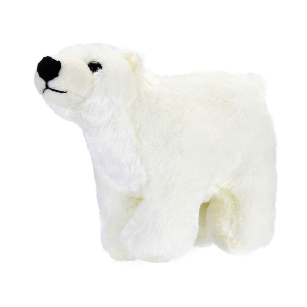 Christmas Cuddle Polar Bear Plush Soft Stuffed Animal Plush Doll Toy for Kids Birthdays Gift Kawaii Floppy Collection Diadia