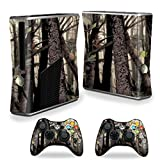 #10: Mightyskins Protective Vinyl Skin Decal Cover for Microsoft Xbox 360 S Slim + 2 Controller skins wrap sticker skins Tree Camo