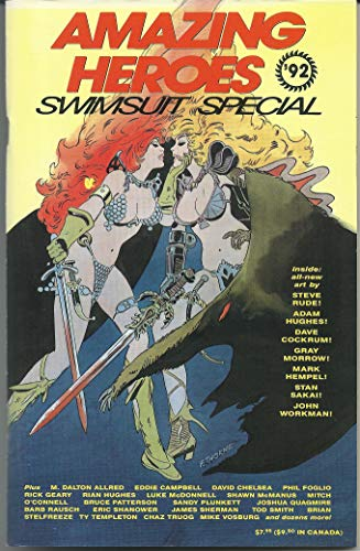 AMAZING HEROES Swimsuit Special 1992