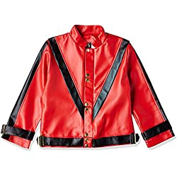 Charades Child's Michael Jackson Thriller Costume Jacket, Red, X-Large