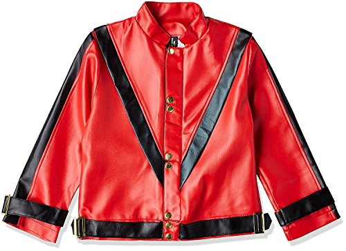 Charades Michael Jackson Thriller Children's Costume Jacket, Medium