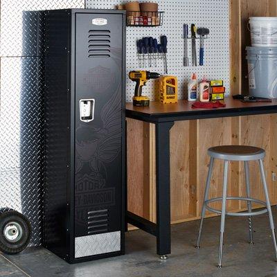 Harley-Davidson Eagle Metal Storage Locker