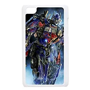 Personalized Durable Cases Hvgqa Ipod Touch 4 White Phone Case Transformers Protection Cover