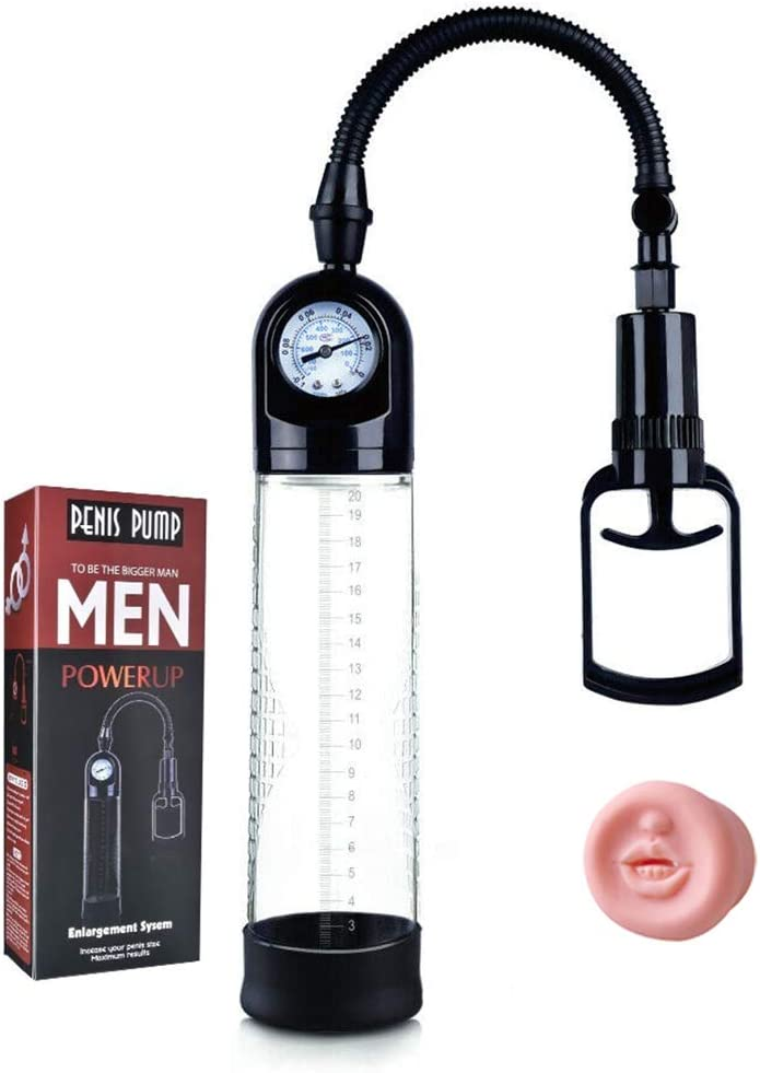 Men's High-Vacuum Pump Sports with One-Click Release Button