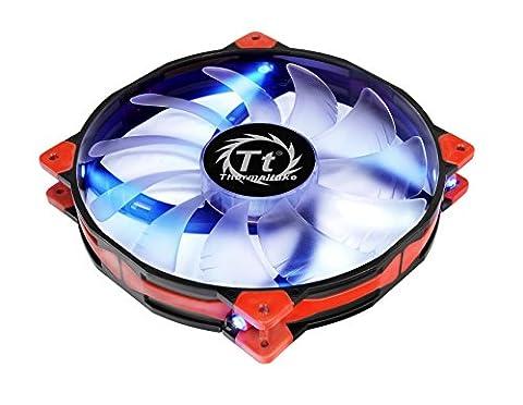 Thermaltake 200mm Luna 20 Series Blue LED High Airflow Case Fan CL-F024-PL20BU-A (Thermaltake Luna 20)
