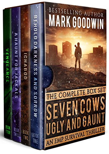 EMP Survival Box Set: Seven Cows, Ugly and Gaunt: A Post-Apocalyptic Saga of America's Worst Nightmare by [Goodwin, Mark]