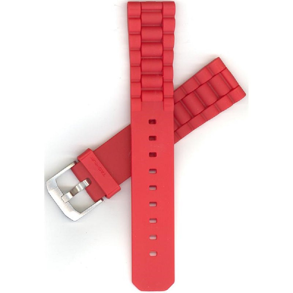 TAG Heuer Formula One Red Rubber Strap BT0706 by TAG Heuer (Image #1)