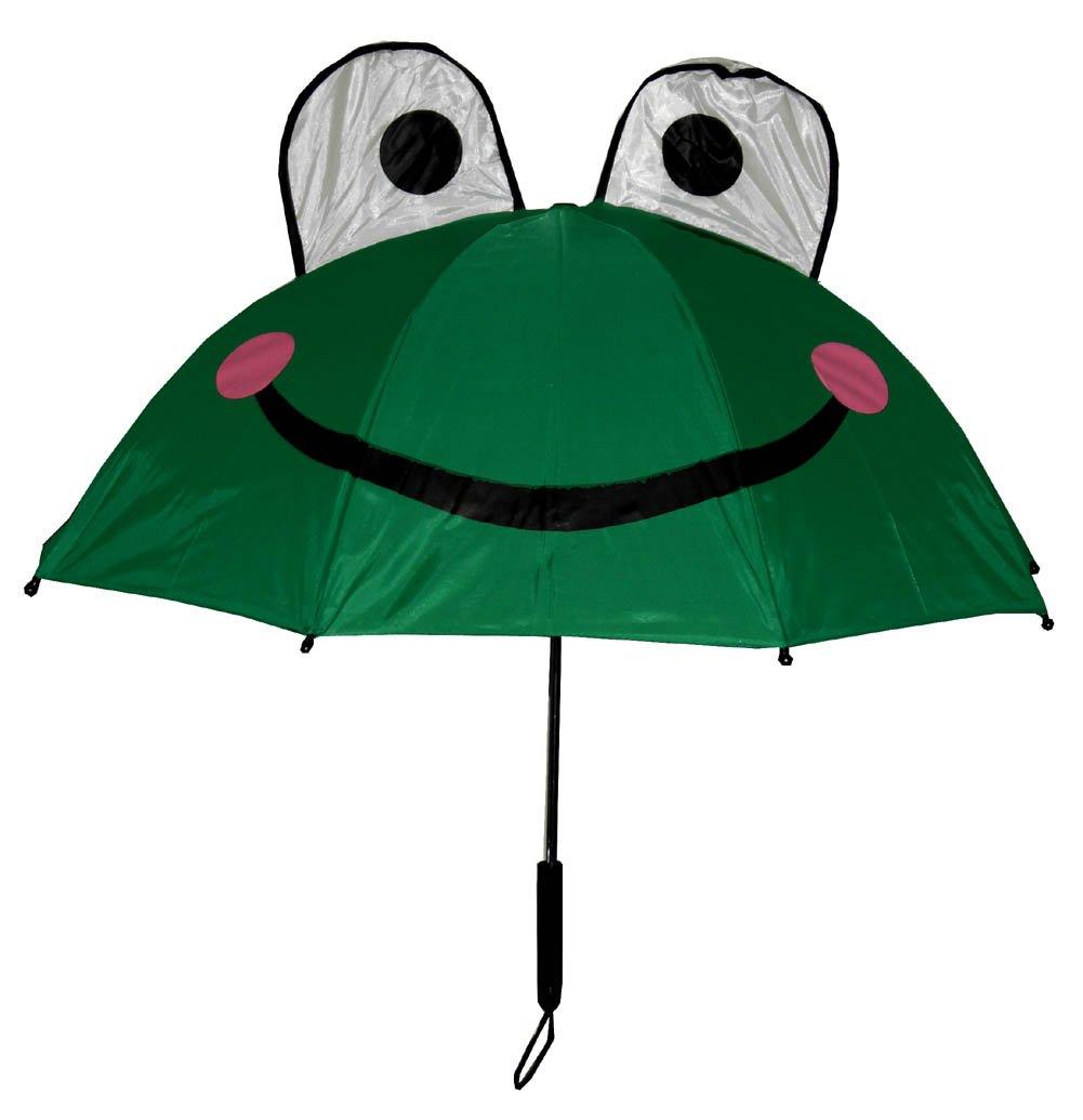 amazon com kids frog umbrella with easy grip handle garden u0026 outdoor