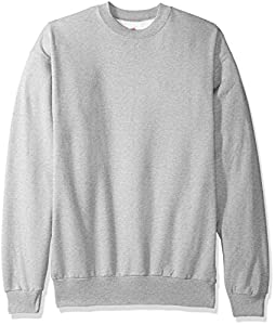 Hanes Men's Ecosmart Fleece Sweatshirt,Light Steel,4 XL