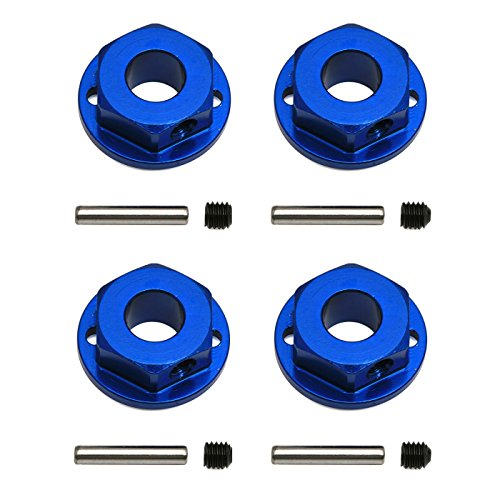 Team Associated 91171 Factory Team 4x4 Aluminum Wheel Hexes