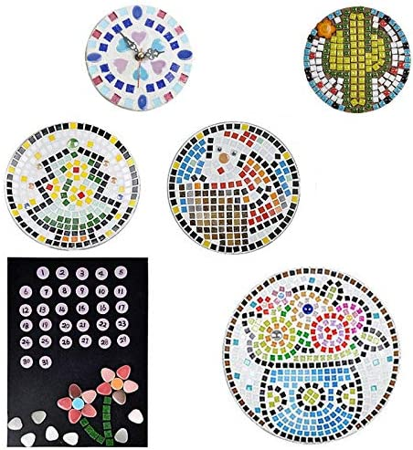 Black Micro Ceramic Mosaic Craft Art Oval Ultrathin Ceramic Manual DIY Mosaic Decor 120 Pcs Jewelry Earring Porcelain Mosaic Tiles FireAngels Mosaic Tiles