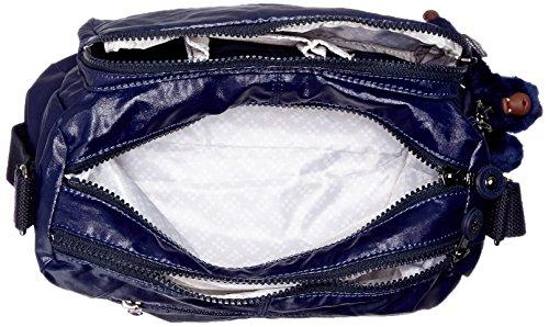 Bandoulière x Indigo Femmes Sacs Bleu 27x17 T Lacquer 5x15 x Kipling cm Reth B H 8qEwgHHB