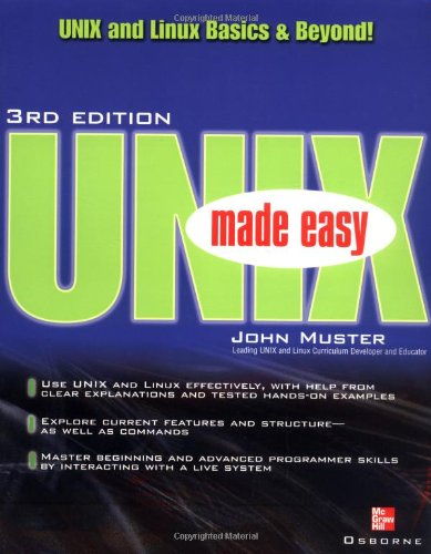- UNIX Made Easy
