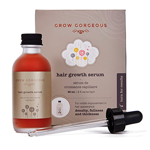 Grow Gorgeous Hair Growth Serum 60 ml increasing hair density 13% over 4 months