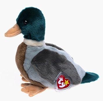 5200fbf120e Amazon.com  1 X TY Beanie Buddy - JAKE the Mallard Duck by Beanies   Plush   Toys   Games