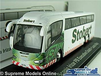 Supreme Models EDDIE STOBART SCANIA IRIZAR MODEL BUS COACH 1