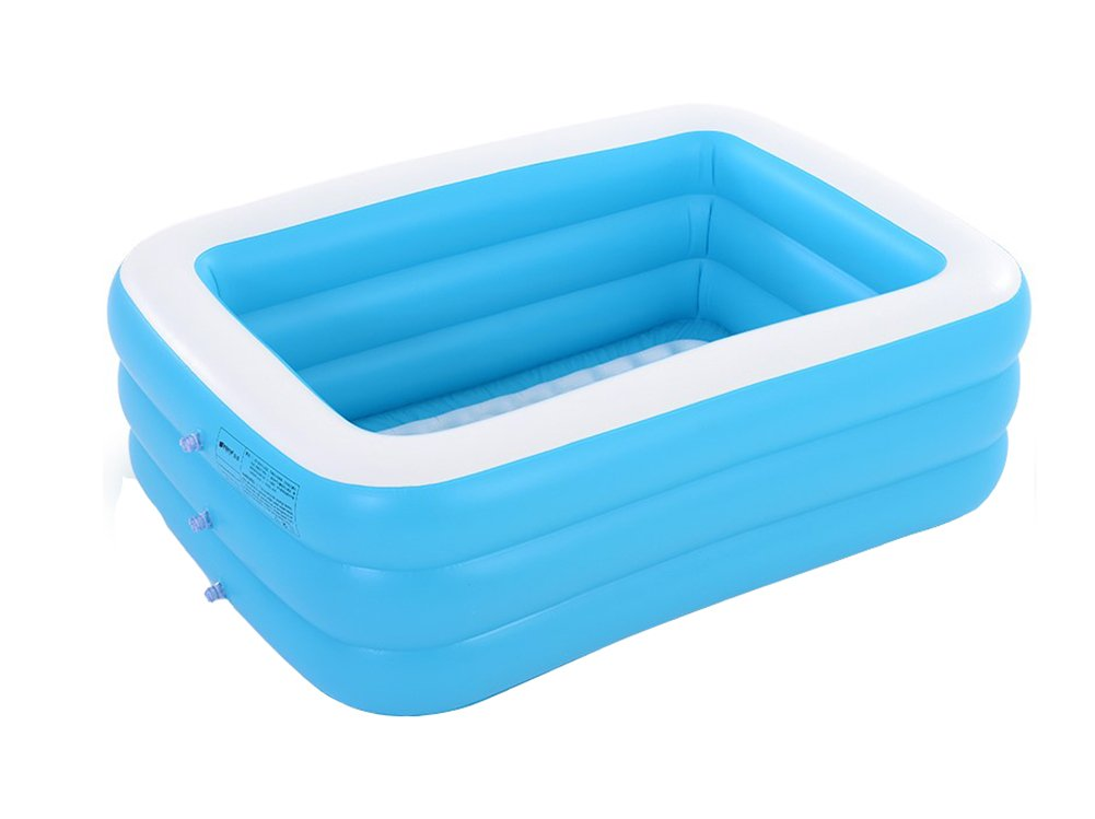 Inflatable Bathtub Double Large Adult Bathtub Inflatable Bathtub Bathtub Folding Bathtub Swimming Pool Blue (Size : 150cm)