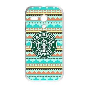 Starbucks Coffee Logo For Motorola G White Custom Cell Phone Case Cover 99II931627