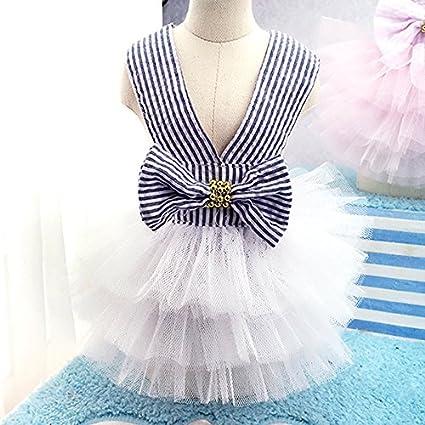 9450a45001f Amazon.com   STAR-TOP Dog Spring Summer Dress