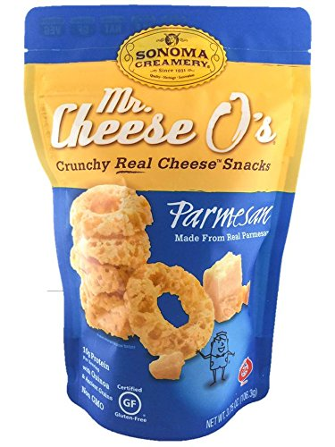 Sonoma Creamery Mr. Cheese O's, Parmesan, 8-Ounce, 4 Count