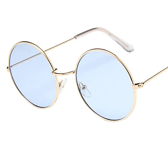 BIGBOBA 1 Vintage Gafas de Sol-Colorear Gafas de sol para Hombre y Mujer 1de0ceaf4467
