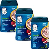 Gerber Baby Cereal Hearty Bits Multigrain Cereal