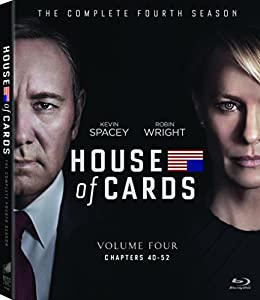 Cover Image for 'House of Cards: Season 4 (Blu-ray + UltraViolet) [blu-ray]'