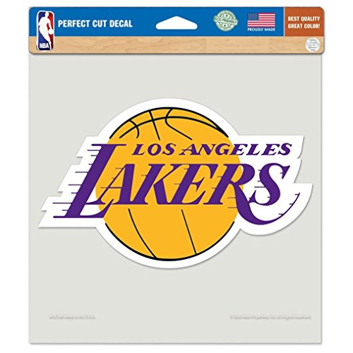 WinCraft NBA Los Angeles Lakers Die-Cut Color Decal, 8