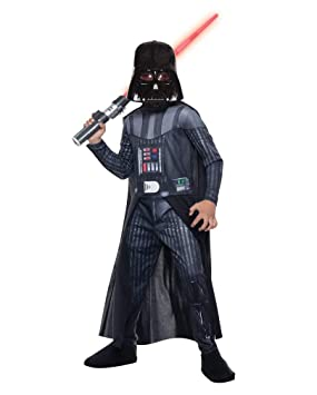 Horror-Shop DLX traje de Darth Vader M: Amazon.es: Juguetes ...