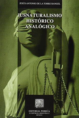 IUSNATURALISMO HISTORICO ANALOGICO